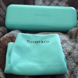 Tiffany & Co Eyeglasses Holder Case and Cloth